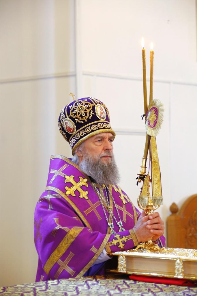 Поздравления митрополиту зиновию