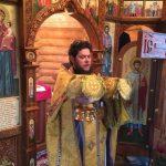Наместник совершил Божественную литургию в храме Феофана Затворника