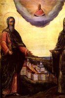 Храм во имя преподобных Антония и Феодосия Киево-Печерских в игуменском корпусе